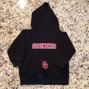 University of Oklahoma Sooners Black Baby Hoodie